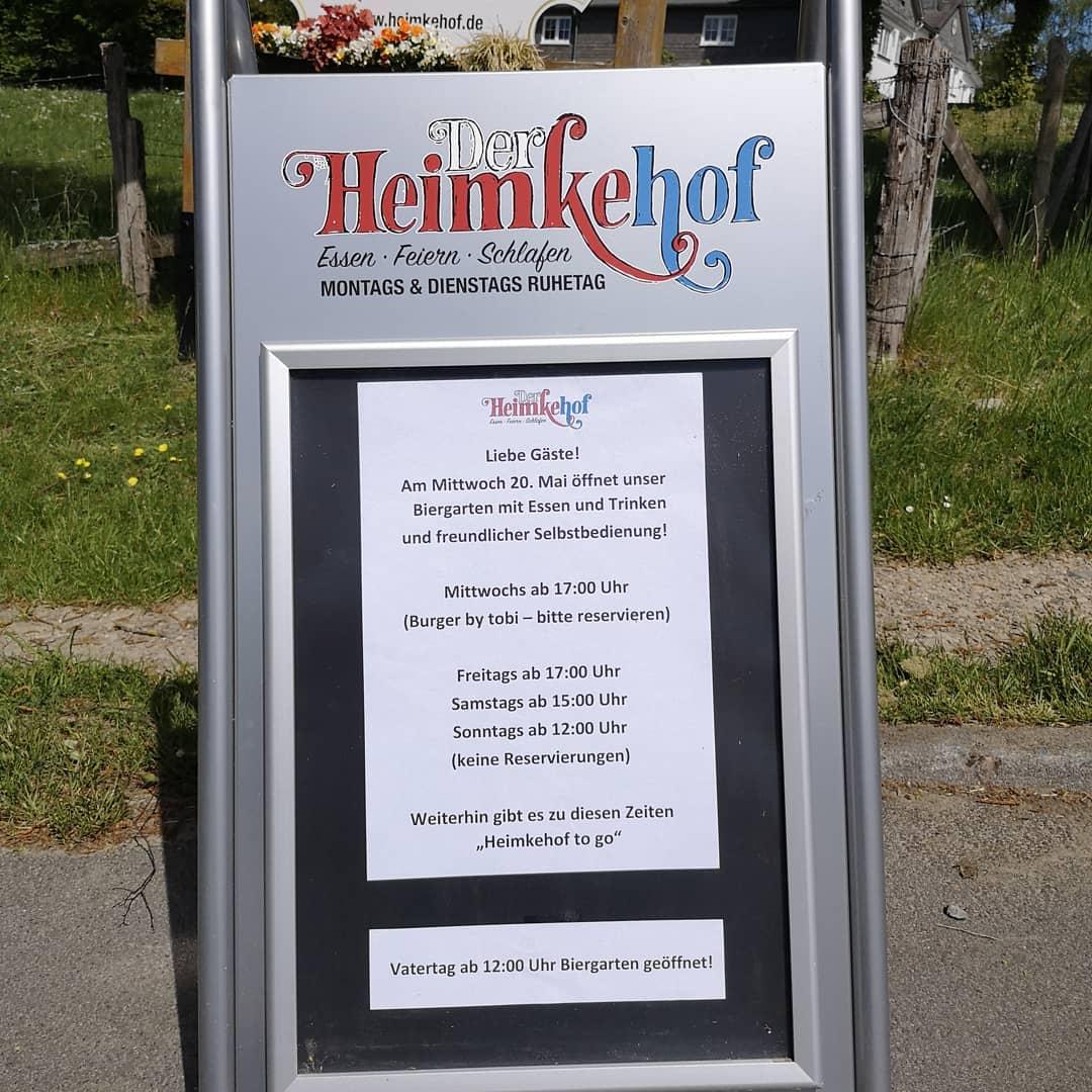 heimkehof schmallenberg biergarten supportyourlocal esgehtwiederlos